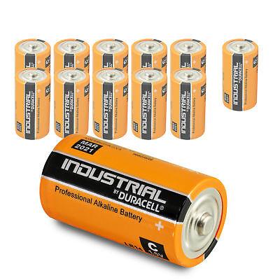 12 x Duracell Baby C Industrial LR14 UM2 MN1400 Batterie 1,5V Alkaline 12 Stück