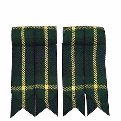 Kilt Gordon Flashes Wool Scottish Heritage Scotland