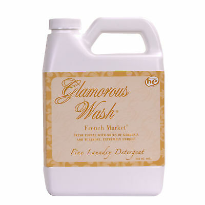 Tyler Candle French Market Glamorous Wash Fine Laundry Detergent 32oz 907g 32 Ounce Laundry Detergent