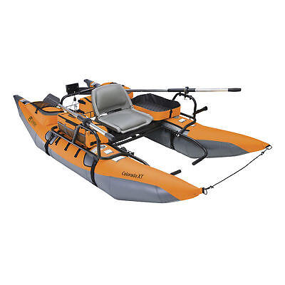 Classic Accessories Colorado Xt Inflatable Pontoon Boat Pumpkin