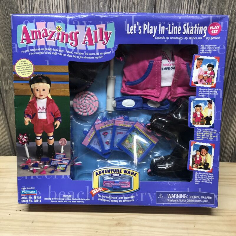Vintage Amazing Ally Playmates Interactive Doll Let