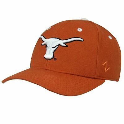 Texas Longhorn Hats (Zephyr Texas Longhorns Hat Mens Fitted Cap Team)