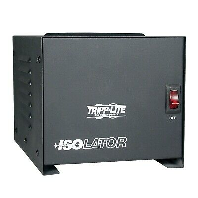 Tripp Lite Is-1000 Isolation Transformer 120vac 1kva 1000w 1ph 4 Outlets