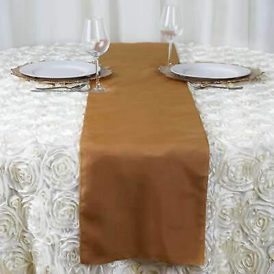 Wedding Runner - Polyester Table Runner Wedding Party Banquet Decoration 20+ Colors!