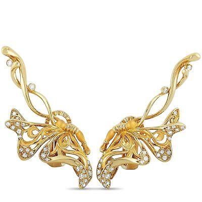 Carrera y Carrera Alegoría 18K Yellow Gold 0.60 ct Diamond Earrings