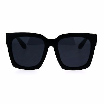 SUPER Oversized Square Sunglasses Womens Modern Hipster Fashion (Hipster Fashion For Women)