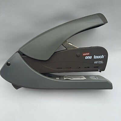 60 Sheet Stapler High Capacity Staples One Touch Works Great
