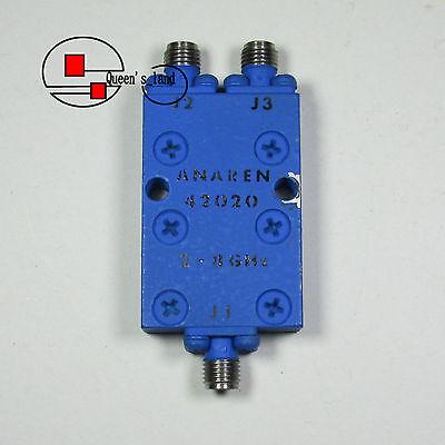1used Anaren 42020 2-8ghz Sma 2-way Power Divider Splitter Combiner