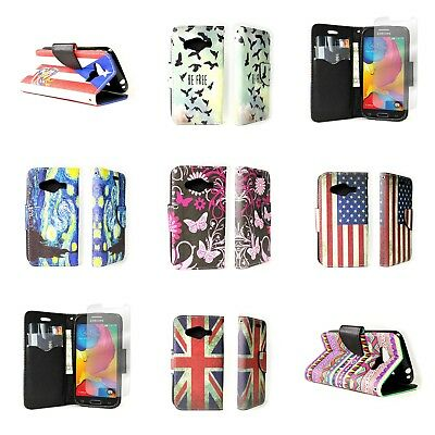 Wallet Flip Pouch Phone Cover Case and Screen Protector for Samsung Galaxy Avant ()