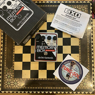 ELECTRO-HARMONIX Memory Boy -Analog Delay with Chorus/Vibrato- Free Uk Postage