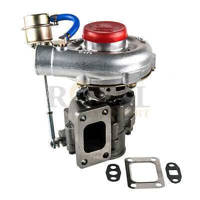 T04E T3/T4 .63 Turbo Turbocharger compressor 300+HP W/Internal Wastegate V-Band for sale  USA