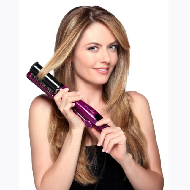 InStyler 32mm Max Purple 2 Way Rotating Iron Straightener Curling Tongs Curler