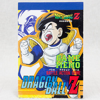 - Retro Rare! Dragon Ball Z Memo Pad Gohan JAPAN ANIME