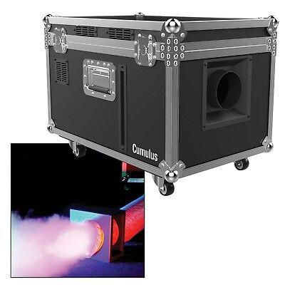 Chauvet DJ Cumulus High Output Low Laying Water Based Roller Case Fog Machine (Low Laying Fog Machine)