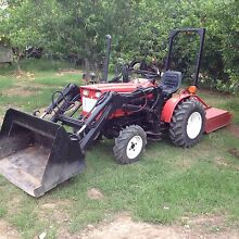 Yanmar 4WD Loader with slasher Penrith Penrith Area Preview