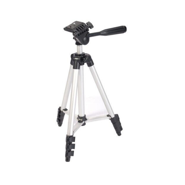 "UNIVERSAL 50"" PORTABLE CAMERA CAMCORDER TRIPOD STAND WITH CARRY CASE CANON NIKON"