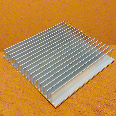 5 Inch Heat Sink Aluminum 5.0 X 4.85 X 0.8 Inches. Low Thermal Resistance.