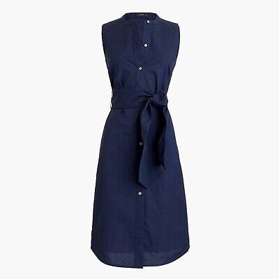 J CREW navy shirt dress size XS