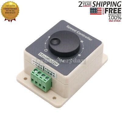 Dc Motor Speed Controller 10-60v 20a Pulse Modulator Pwm Motor Regulator Usa