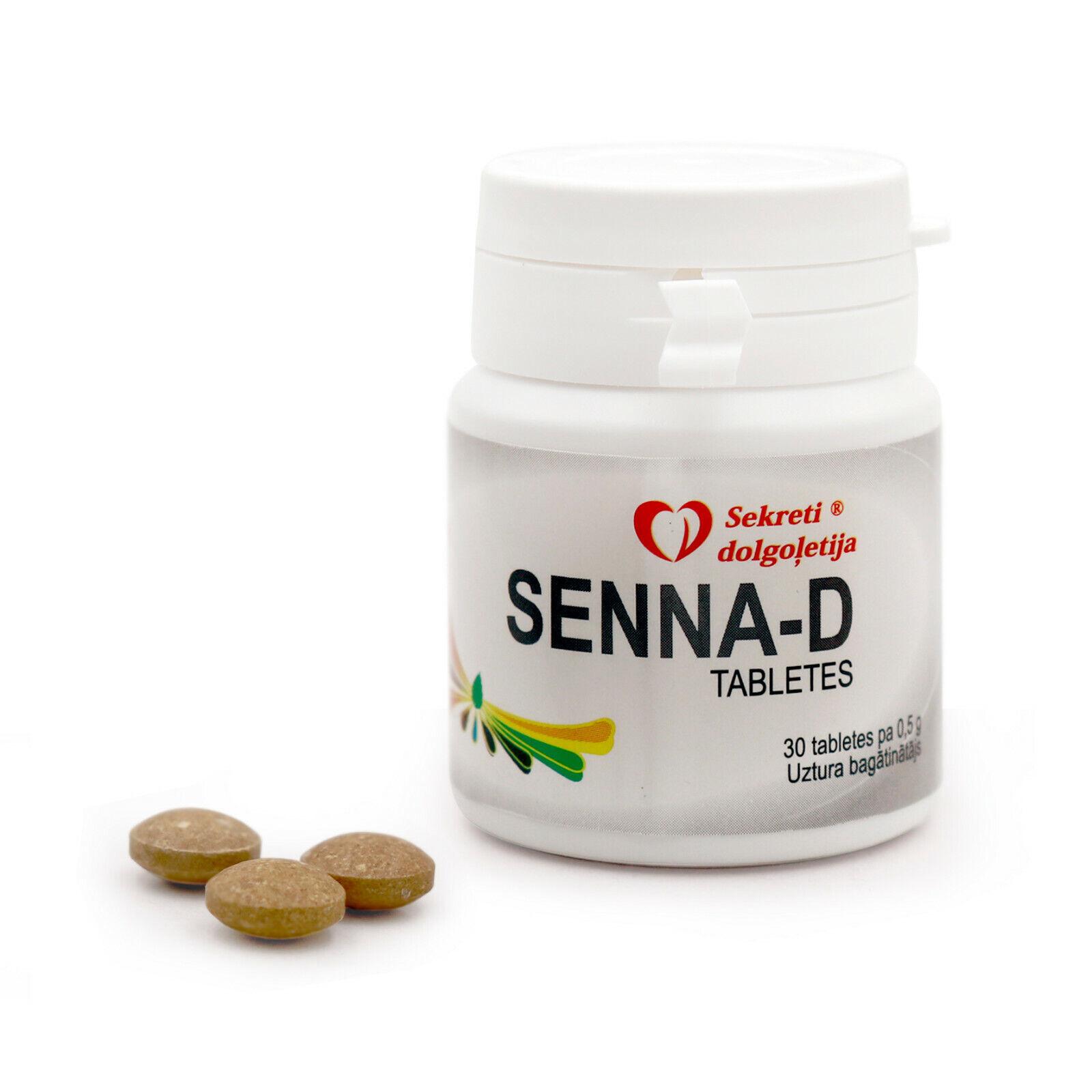 Senna D 30Tabl. Abführmittel Senne Darm Verdauung сенна слабительное пищеварение
