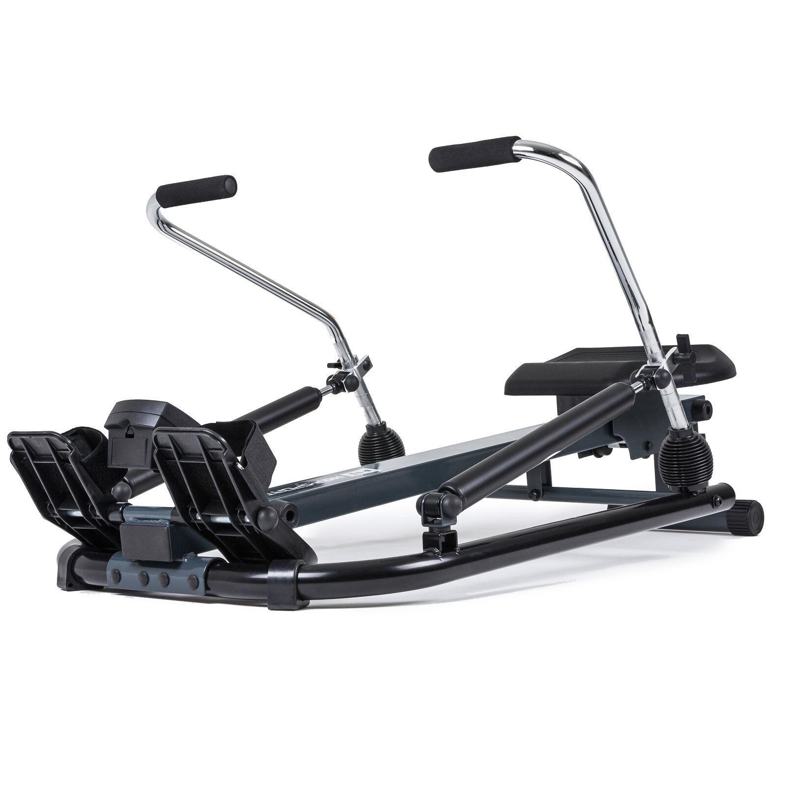 Rudergerät WING Rudermaschine Fitnessgerät inkl. Computer verstellbare Sitzhöhe