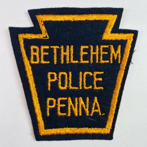 Bethlehem Police Pennsylvania Vintage Felt Patch (A1)