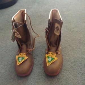 Men's CSA approved work boots