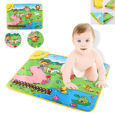 Farm Piano Musical Educational Development Fun Toy Gift Music Toys Kids A9J7
