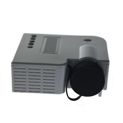 4K 3D 1080P Mini LED blanco Proyector LCD Cine Sala HDMI Cine...
