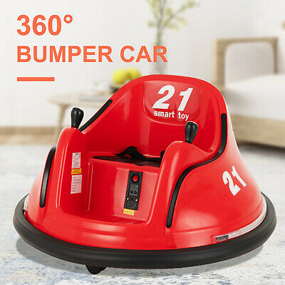 6V Electric Kids Ride on Toy 360° Bumper Car Battery Power Motorized Vehicles