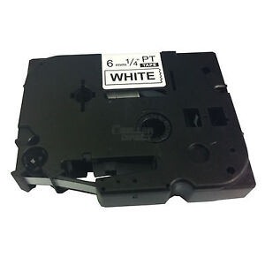 BROTHER COMPATIBLE TZ211/TZe211 LABEL TAPE FOR P-TOUCH PT1000/1010/1090/1290