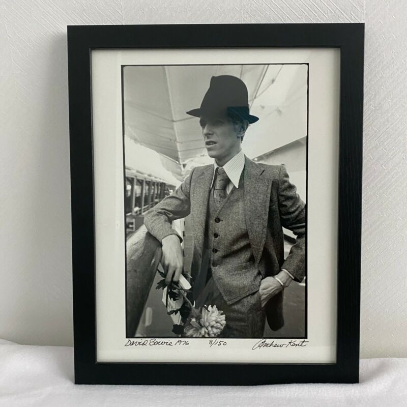DAVID BOWIE by Andrew Kent Moscow Russia 1976 Signed Limited Edition Photograph