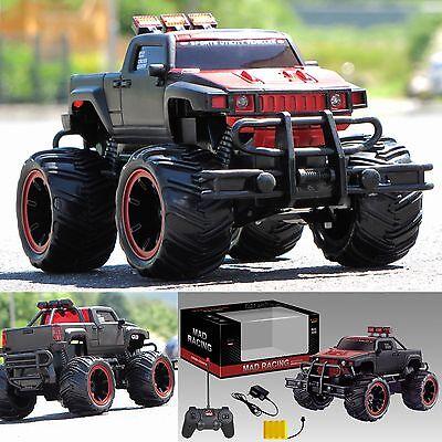RC ferngesteuertes Auto Monstertruck Truck Pick up Akku Ladegeräte 28 cm Lang