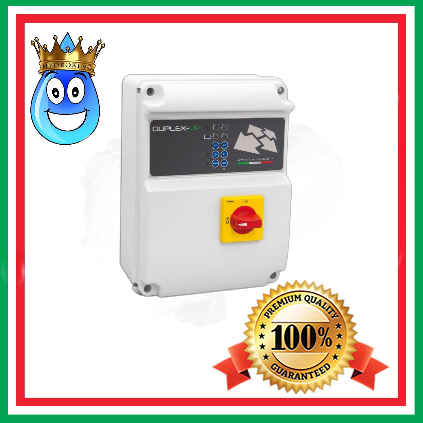 QUADRO ELETTRONICO  FOURGROUP DUPLEX-UP t/10  230V 0,55-7,5kW