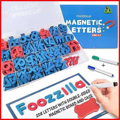 Magnetic Letters Classroom Kit W Double Sided Board ABC Learning & Spelling Foam