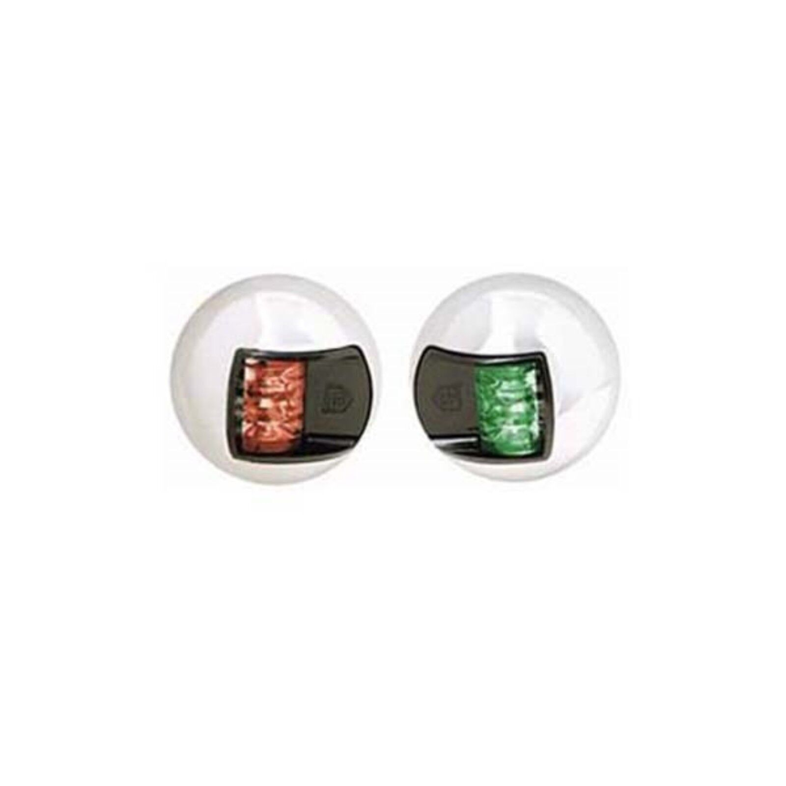 Attwood 3560-7 Stainless Steel LED Vertical Side Lights Pair