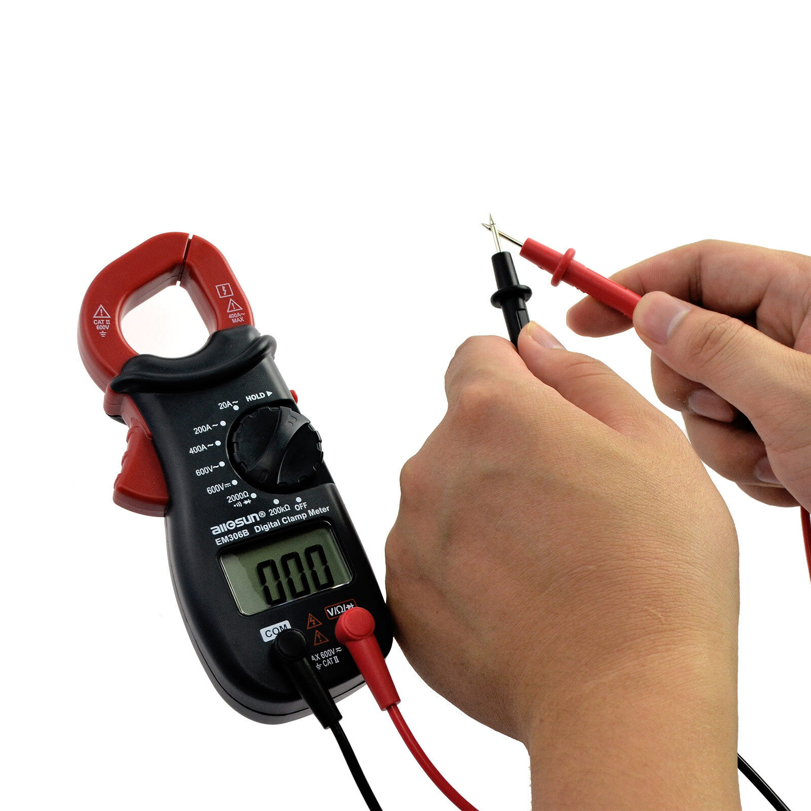 Digital Clamp Meter Handheld Multimeter Dc Ac Volt Ac