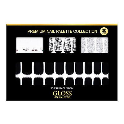 Gloss Gel Nail Strip Manicure 30 Nails DGNP25 Gabriel Look Nail Art K-Beauty