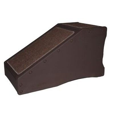 New! PET GEAR StRamp Dog Cat Step Stairs Bed Ramp Indoor CHOCOLATE ()