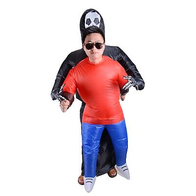 r Inflatable Costume Blow Up Fancy Dress Funny Halloween HOT (Funny Ghost Kostüme)