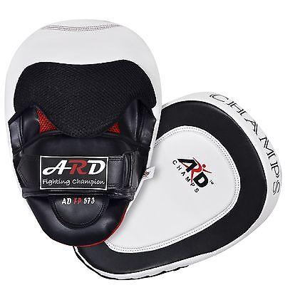 Flaresports Bag Mitts Training Gym kick Boxing Strike MMA Gloves Red Size-Medium