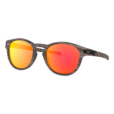 Oakley Latch Woodstain Collection Sunglasses Rosewood Prizm Ruby