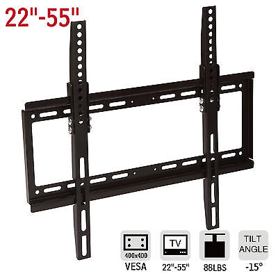 LCD LED TV Wall Mount Bracket Tilting Plasma Flat 22 27 32 37 40 42 46 47 50 55