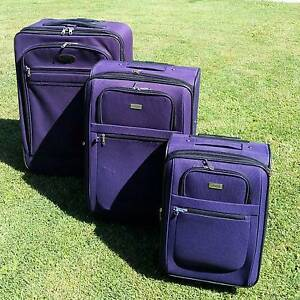 SUITCASES - SETS OF LANZA and MARCO Thornlands Redland Area Preview
