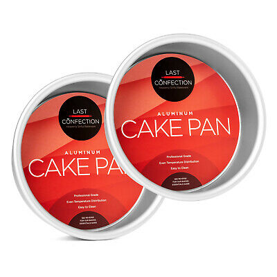 "2-Piece Round Cake Pan Set - 6"" x 2"" Deep"