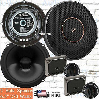 "Infinity REF-6520CX  6.5"" 270 WattsCar Audio Component Speakers System -2 pair"