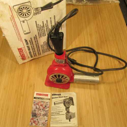 Master Appliance Heat Gun Red Industrial Heavy Duty HG-301A 300/500 F Made in US