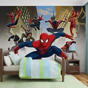 Marvel Wall Mural 28+ [ spiderman wall mural huge superhero marvel ] | komar marvel