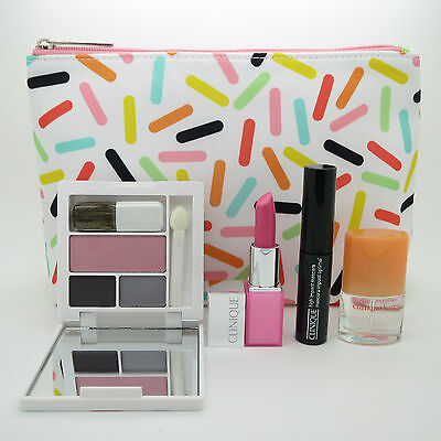New Clinique 5-PC Skincare Makeup Gift Set - Sweet Choice, Sealed