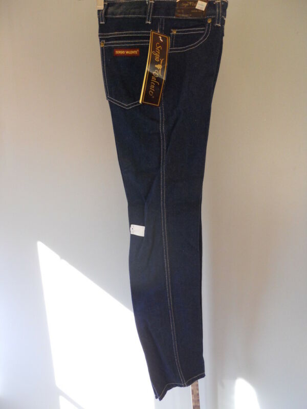 Nos 1970s 80s Vintage DeadStock Sergio Valente Disco Blue Jeans Rockabilly Youth